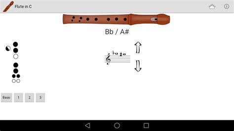 recorder fingering chart  apk  android aptoide