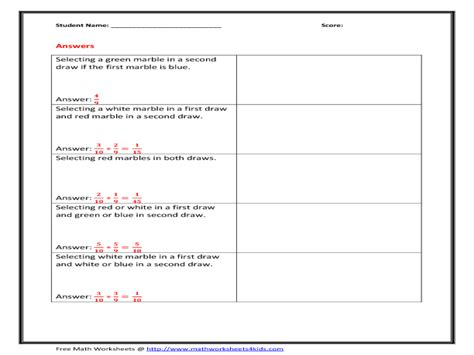 Independent And Dependent Variables Worksheet For 6th  7th Grade  Lesson Planet