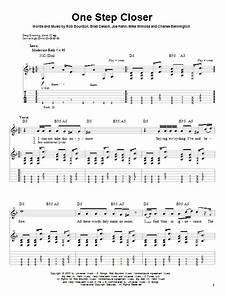 One Step Closer Sheet Music Linkin Park Guitar Tab Play Along