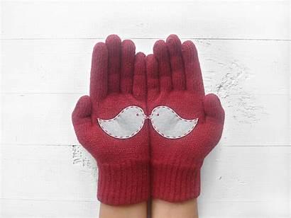 Gloves Together Talking Glove Adorable Them Left