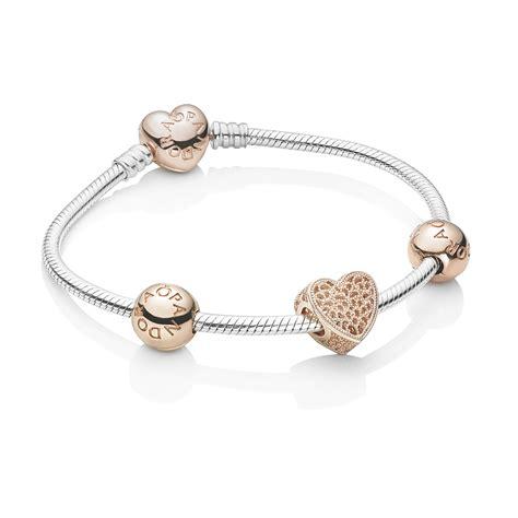 Pandora Rose Heart Bracelet Set  Pandora Uk  Pandora Estore. Old Fashioned Ankle Bracelets. Pave Diamond Band. Half Heart Lockets. 36 Inch Necklace. Anklet Fine Jewelry. Where To Buy Mens Wedding Band. Wedding Band Sets. Burmese Sapphire