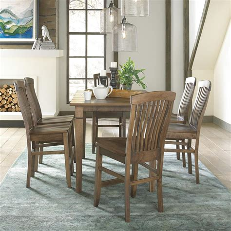 daniel s amish middleton pub table and chair set belfort