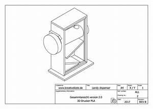 Fackel Selber Bauen : 3d candy dispenser ~ Lizthompson.info Haus und Dekorationen