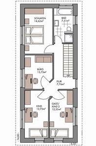 Haus Bauen Grundriss Erstellen : schmaler grundriss einfamilienhaus ~ Michelbontemps.com Haus und Dekorationen