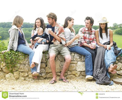 Depending on the nature of your group, maybe volunteers could bring in their own coffee makers. Group Of People Relaxing Outdoors With Coffee Stock Photo - Image of healthy, coffee: 12053076