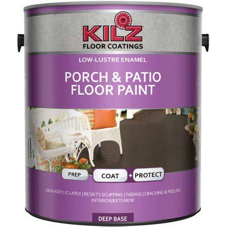kilz porch  patio floor paint gallon walmartcom
