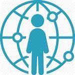 Icon Global Worldwide Network Communication Vectorified Getdrawings