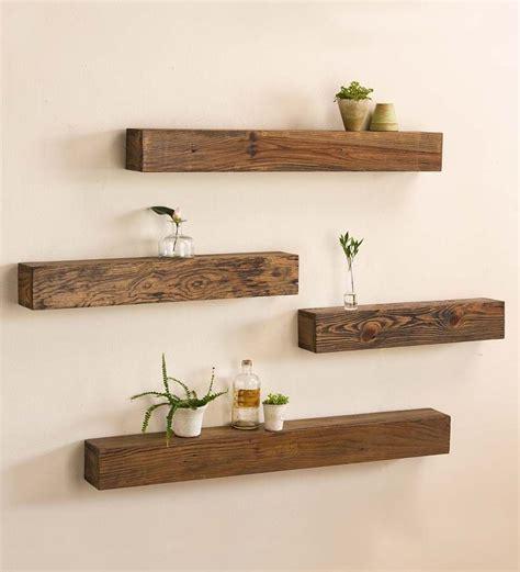 impressive tricks rustic floating shelves ikea hacks