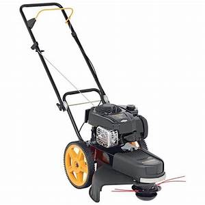 Poulan Pro Pr22wt High Wheeled Trimmer Review