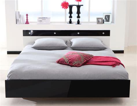chambre lit blanc lit strass blanc noir