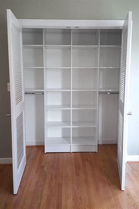custom reach  closets small space organization