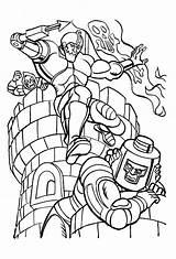 Coloring Pages He Printable Universe Jaw Trap Boys Books Print Krypto Gratis Stof Malesider Tegneserie Farver Dibujo Motu sketch template
