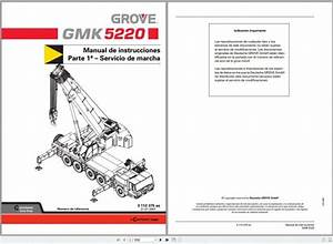 Grove Mobile Crane Gmk5200 Operating Instructions