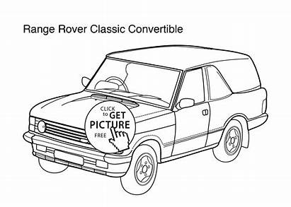 Rover Coloring Range Super Classic Pages Printable