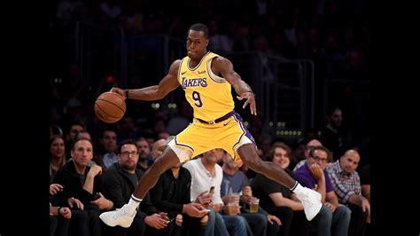 Lakers point guard Rajon Rondo severely breaks his thumb ...