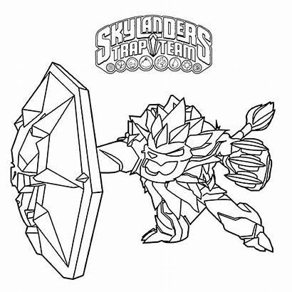 Skylanders Trap Team Coloring Kleurplaten Wildfire Skylander