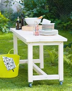 Tischplatte Wetterfest Selbst Gemacht : mobiler gartentisch selbst gebaut gartenzauber ~ Orissabook.com Haus und Dekorationen