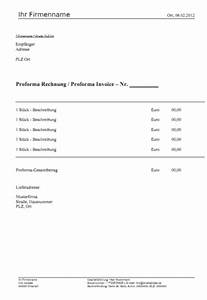 Rechnung Schweiz : proforma rechnung muster vorlage download kostenlos ~ Themetempest.com Abrechnung