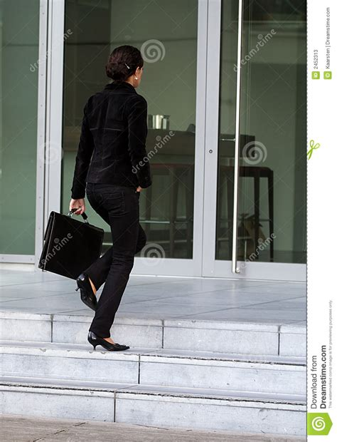Businesswoman Going To Work Stock Image - Image: 2452313