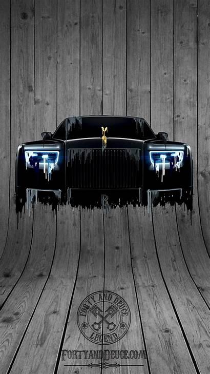 Royce Rolls Phantom Phone Liquid Metal Screensaver