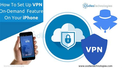 how to set up vpn on demand feature on your iphone