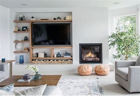 Living Room Television Designs
