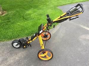 New  Orange Aristocart With Sun Mountain Gt Parts