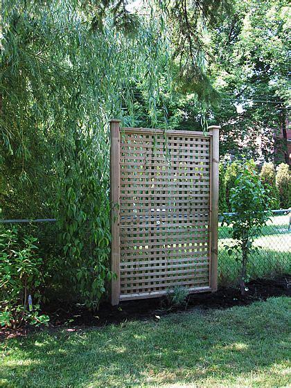 Backyard Privacy Screens Trellis - best 25 backyard privacy ideas on deck