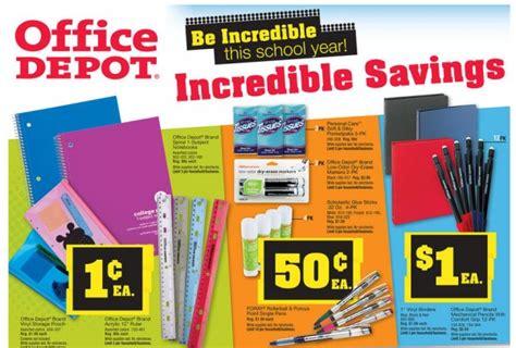Office Depot Utah by Weekly Back To School Deals 8 13 2012 Coupons 4 Utah
