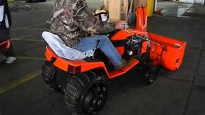 Ariens Tractor With Snow Blower Attachment