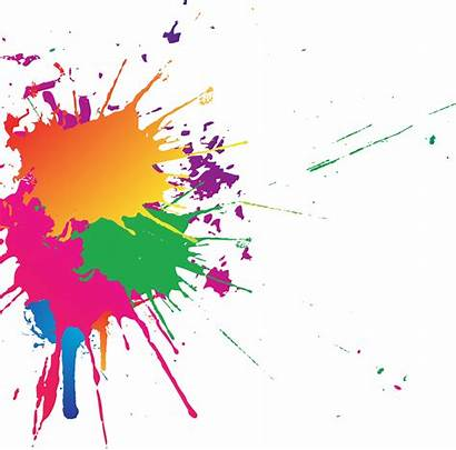 Splash Transparent Background Colorful Paint Smoke Clipart