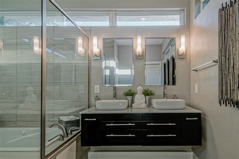 beautiful modern bathroom lighting ideas