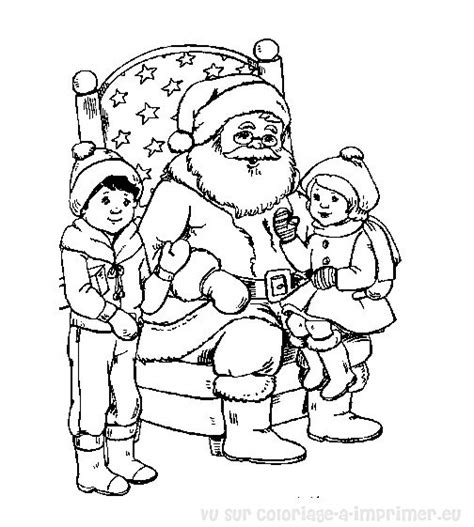 coloriage noel a imprimer free coloring pages of pere noel