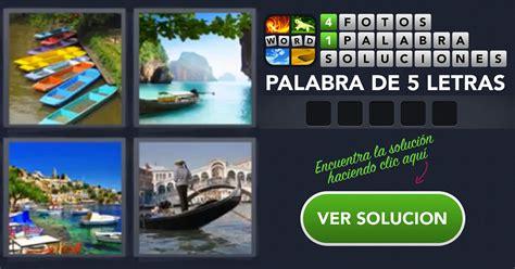 Un Barco 4 Fotos 1 Palabra by 4 Fotos 1 Palabra Canoas Barcos Gondola Piragua