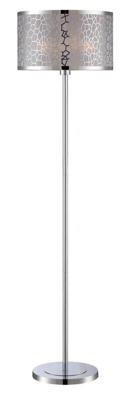 floor ls lighting direct lite source ls 82210c chrome kyra 1 light floor l lightingdirect