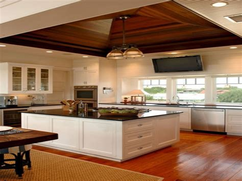 Ideas For Kitchen by Wood Tray Ceiling Kitchen Ideas