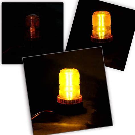 led warning lights new dc12v 110v led mini strobe beacon single flash warning