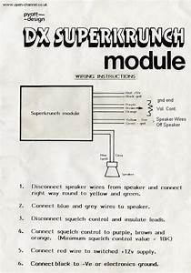 Cb Radio Manuals And Circuit Diagrams