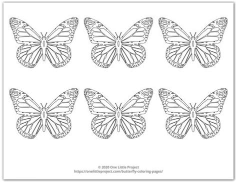 butterfly coloring pages  printable butterflies