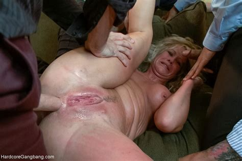 Horny Milfs Gangbang Fantasy Double Anal Double Vaginal