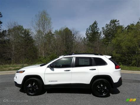 white jeep cherokee 2017 2017 bright white jeep cherokee altitude 4x4 119753382
