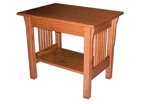 storage end tables for living amish prairie mission large end table