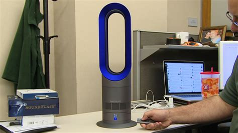 Tech Review The Dyson Am09 Hot + Cool Fan  Youtube
