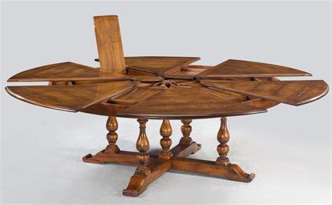 Inspiring Jupe Table Extra Large Round Solid Walnut Dining