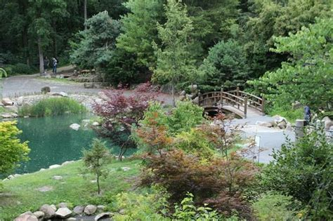 dubuque arboretum and botanical gardens view of japanese garden picture of dubuque arboretum and