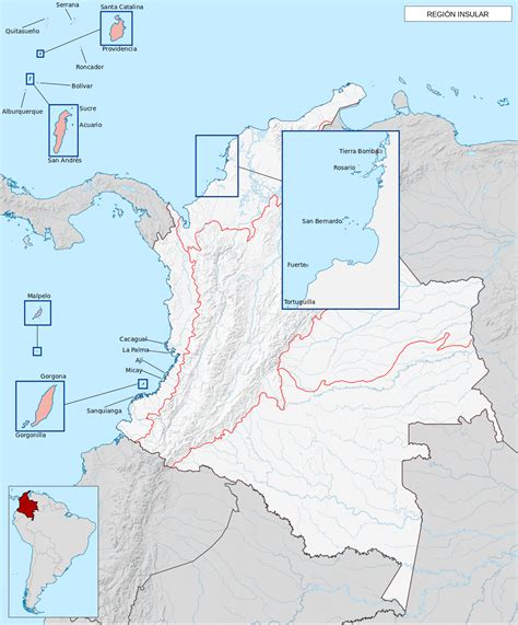 insular region of colombia