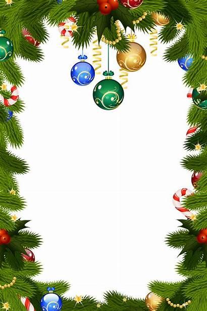 Border Holiday Transparent Clipart Christmas Frame Webstockreview