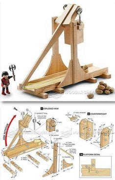 trebuchet  catapult plans  blueprints