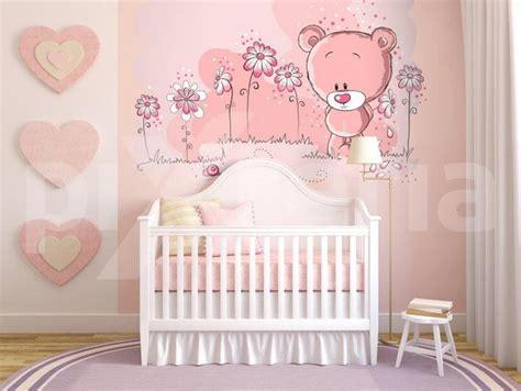 Wandgestaltung Babyzimmer Mädchen by Kinderzimmer Wandgestaltung M 228 Dchen