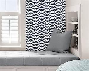 Decolle Papier Peint : bon plan le papier peint adh sif repositionnable papier peint pinterest ~ Dallasstarsshop.com Idées de Décoration